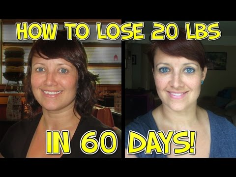 How To Lose Weight Quickly (20lbs in 60 Days)