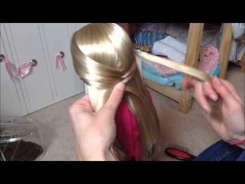 How to: Fishtail Braid on an AG doll!