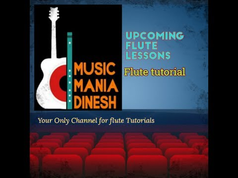 Upcoming flute lessons for absolute beginners in Nepali language