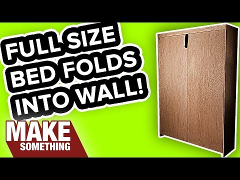 How to Make a Murphy Wall Bed | Woodworking Project