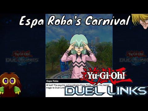 Yugioh Duel Links Season 2 Ep. 17 - Espa Roba's Carnival