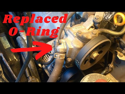 Honda/Acura Power Steering Pump O-Ring Replacement