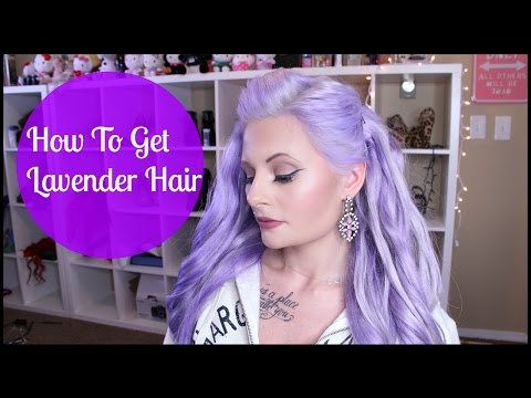 How I went from Red Hair to Pastel Lavender | Mariah McLean