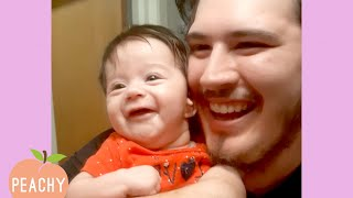Dad's Being the Cutest! 😊 | Funny Dad Fails 2020 | Funny Moments 🍑