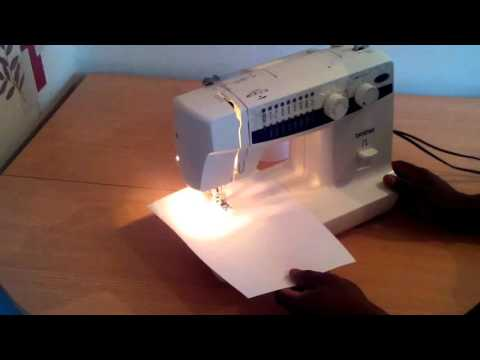How to Reverse Stitch On A Sewing Machine.