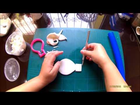 Simple hot air balloon cake topper demo