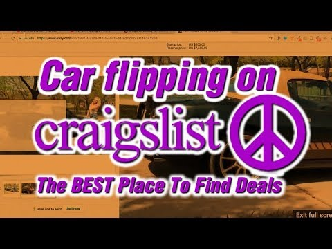 Car Flipping On Craigslist - Why It's Still The BEST Place To Find Deals