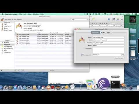 How to Recover Lost WiFi Password (MAC) 2014