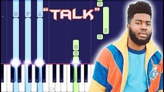 Download Khalid - Talk Piano Tutorial EASY (Piano Cover) Video