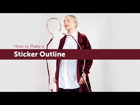 How to Make a Sticker Outline With PicsArt