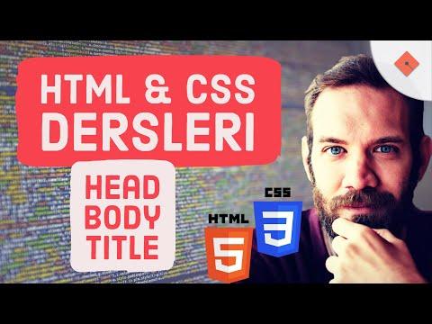 Yakın Kampüs - XHTML (HTML) ve CSS Ders 3 - Header ve Horizontal Line