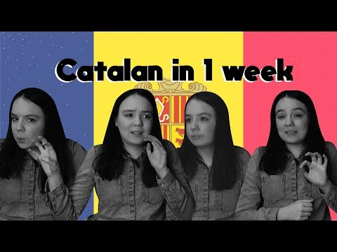 🇦🇩1 WEEK OF LEARNING CATALAN 🇦🇩 // LANGUAGE CHALLENGE