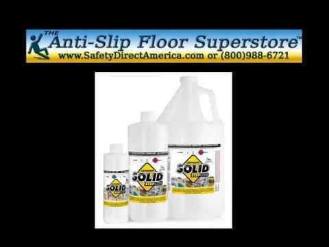 Clear Anti Slip Floor Coatings