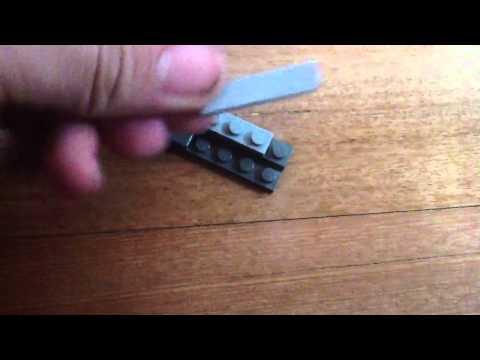 How to make a lego nano knife