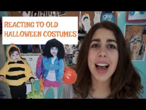 Reacting to My Halloween Costumes!