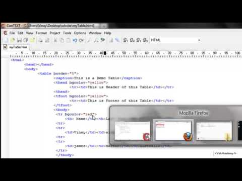 background colors and image in table    HTML table in Hindi part 3 7  html in hindi    YouTube