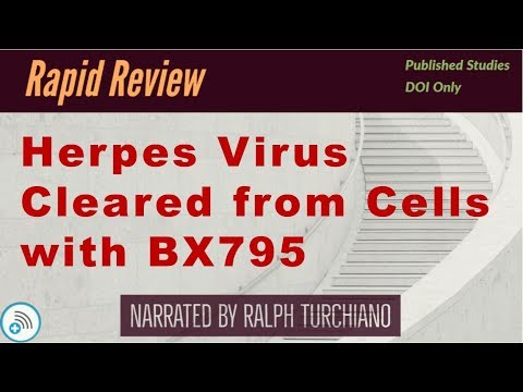 🔬Herpes Virus Cleared from Cells BX795