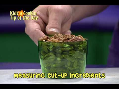 Midiendo Ingredientes Cortados