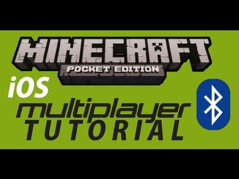 Bluetooth Multiplayer:PE Tutorial | Minecraft Pocket Edition [iOS]