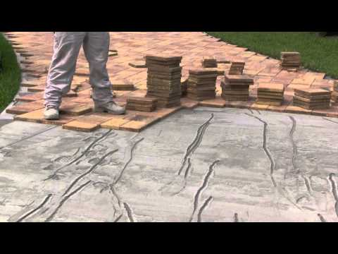 Paver Loc Driveway Installation - Tuscan Paving Stone