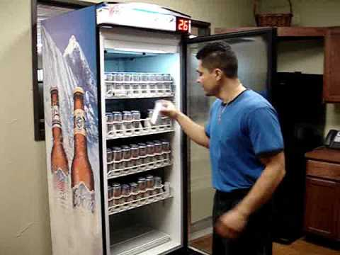 Coors Light Cold Activated Can Beer Cooler from Metalfrio Solutions