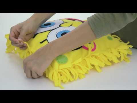 SpongeBob Knot A Pillow