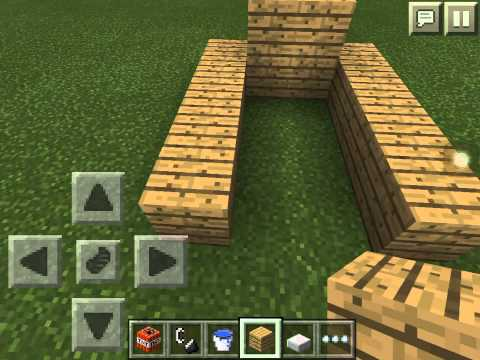 Minecraft Pocket Edition: 0.10.4 tnt cannon