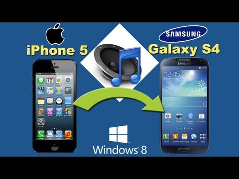 iPhone 5 to Galaxy S4 [Music Transfer]: How to Sync Music from iPhone 5 to Samsung S4 with 1-Click