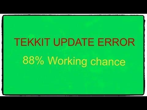 Technic Launcher Update failed FIX(STILL WORKS) (OLD TEKKIT LAUNCHER) Tekkit launcher error!