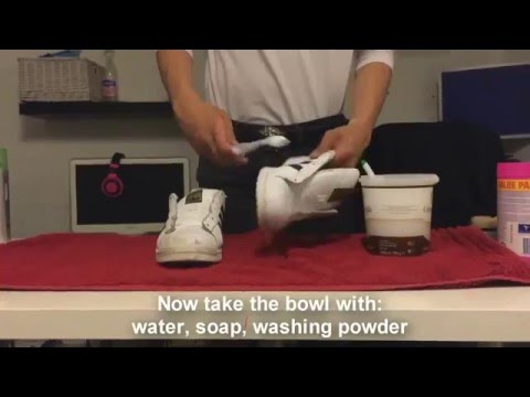 How To Clean: Your White Leather Shoes