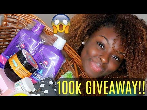 Hair Care Package Giveaway! FINALLY 100K!
