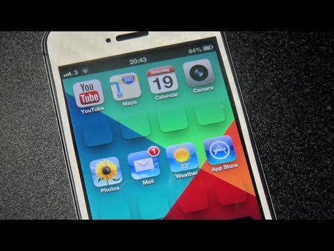 Gridlock On iPhone 5 - Without Jailbreak! Works With 4S/4/3GS/3G
