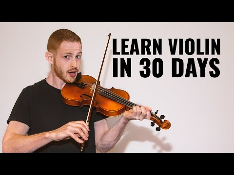 Learn Violin in 1 Month || Max's Monthly Challenge