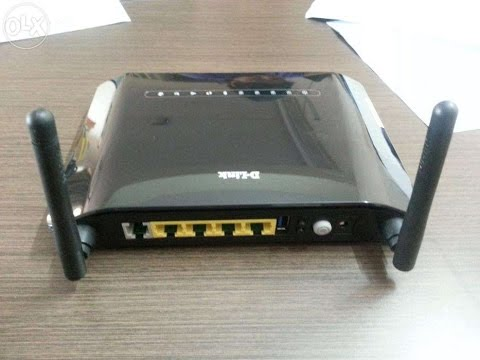 HOW TO CONFIGURE WiFi of D Link Wireless N300 ADSL2+ Router
