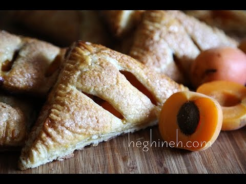 Apricot Turnover Recipe - Easy Dessert Recipes - Heghineh Cooking Show