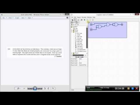 Tutorial 8 : Truth table design in Logisim