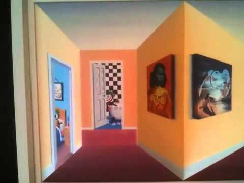 John D Wilson 3D paintings