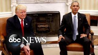 President Elect Trump Goes to Washington