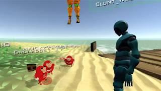 VR Chat - Origin Story of the Ugandan Warrior Knuckles **READ DESCRIPTION**