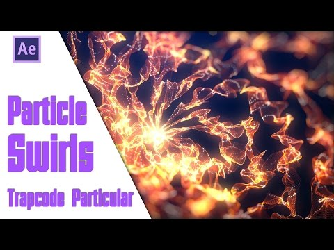 After Effects Speed - Particle Swirls (Trapcode Particular)