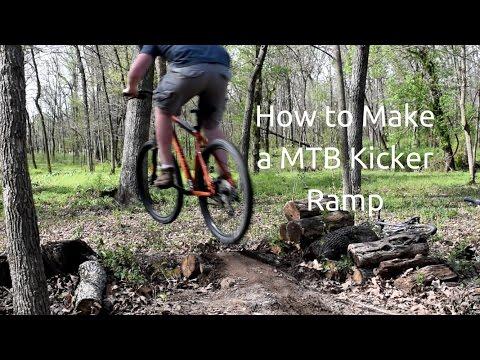 How to Make MTB Dirt Kicker Ramp