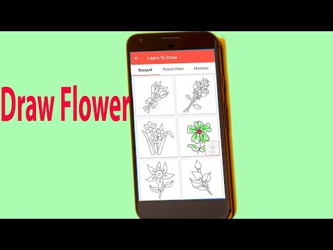 How to draw flowers Draw a Flower Easly Draw a Realistic Flower