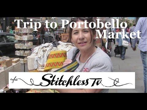 Trip with Tree to Portobello Market