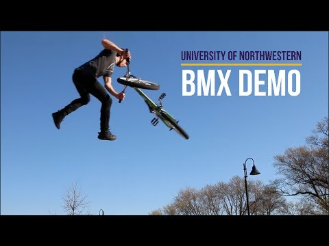BMX Demo with Tristan Sagastume - University of Northwestern