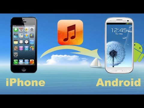 iPhone Music to Android Transfer: How to Move or Copy Music from iPhone to Android Phone?