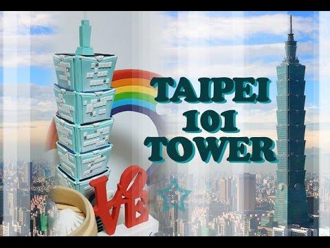 ::sugarcraft::Taipei 101 tower 대만 101타워 만들기