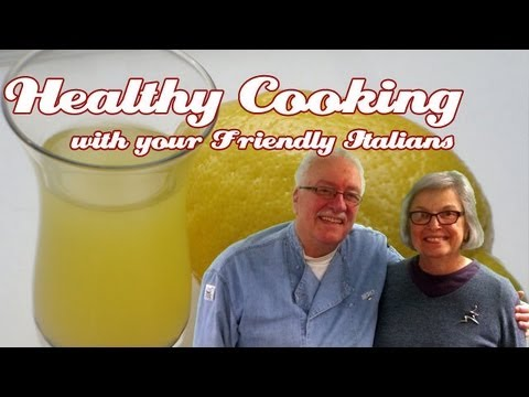 Homemade Limoncello ..::.. Healthy Cooking W.Y.F.I. #05