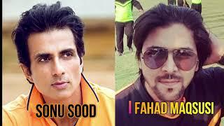 Fahad Maqsusi in Conversation with Bollywood actor Sonu Sood
