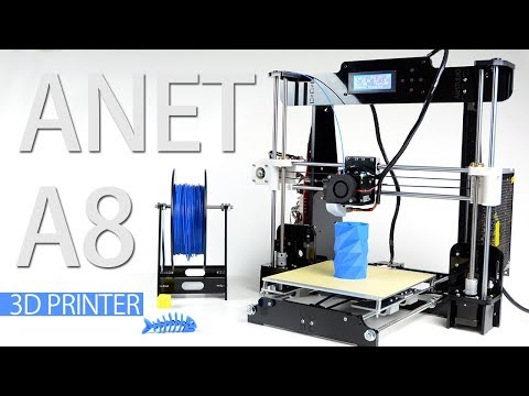 ANET A8 ASSEMBLY AND FIRST PRINTS