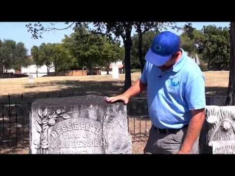Texas Cemetery Restoration Geological Monument Traits